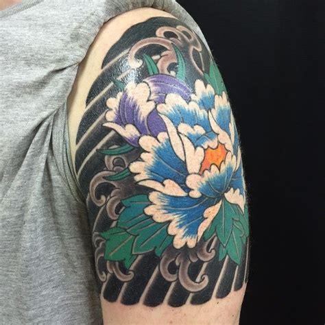 japanese tattoo quarter sleeve 9 best japanese sleeve tattoos images on pinterest