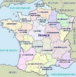 Map Of France Regions by Regions Of France Map Images Frompo 1