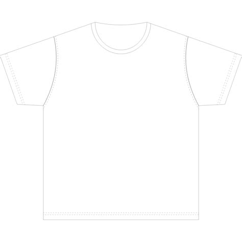 size t shirt template printable t shirt template cliparts co