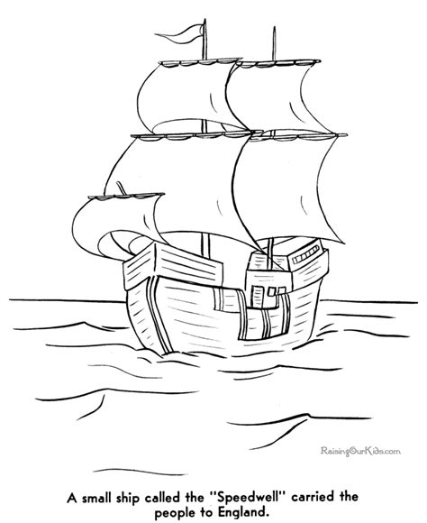 free colonial life coloring pages