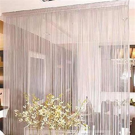 string curtain panel white string curtain panel