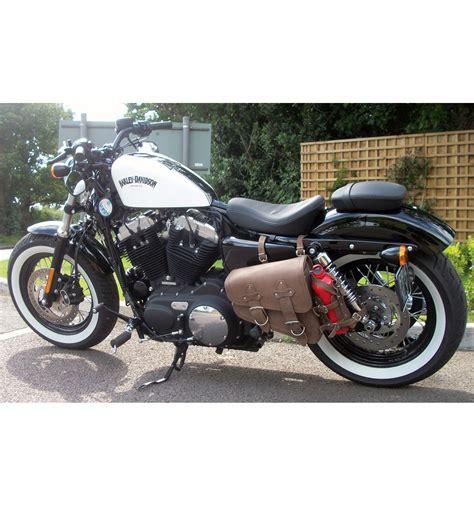 Jam Harley Davidson Dyna Brown Box brown leather saddlebags for harley sportster best model
