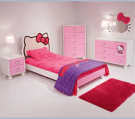 bedroom accesories hello kitty bedroom idea for your cute little girl