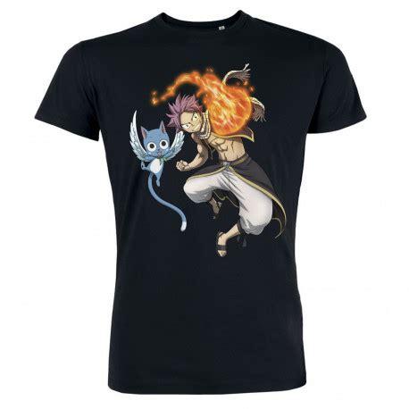 T Shirt Natsu t shirt femme natsu happy manches courtes en