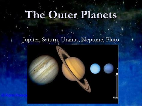 Outer Iner inner and outer planets powerpoint pics about space