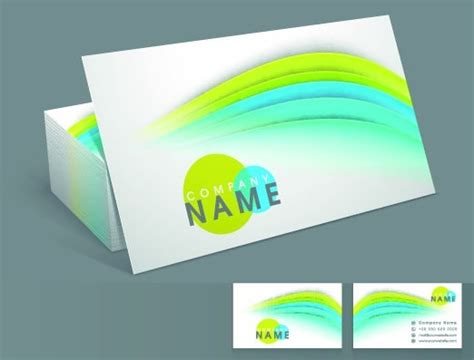 Colorful Business Card Templates Free by Free Colorful Business Card Templates Vector 01