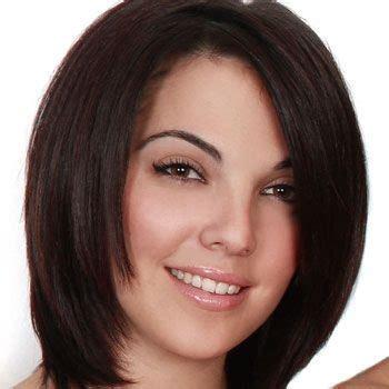 imagenes de corte cabello para dama corte de pelo para dama cara redonda
