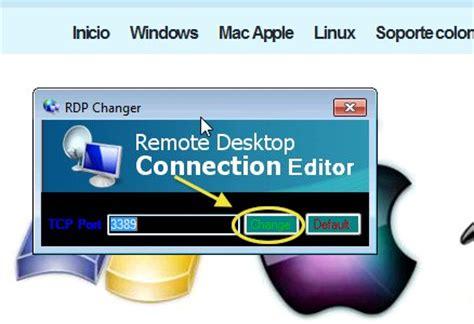 descargar escritorio remoto windows xp programa para cambiar el de escritorio remoto en