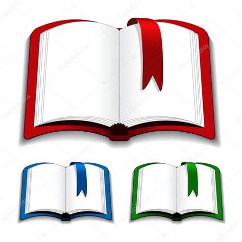 image gallery imagenes de libros abiertos vector libros abiertos con marcador vector de stock