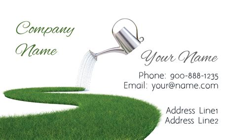 lawn business card templates lawn service grass business card design 1304051