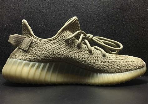 Adidas Yeezy 350 Boost V2 Olive Green adidas yeezy boost 350 v2 green sneakernews