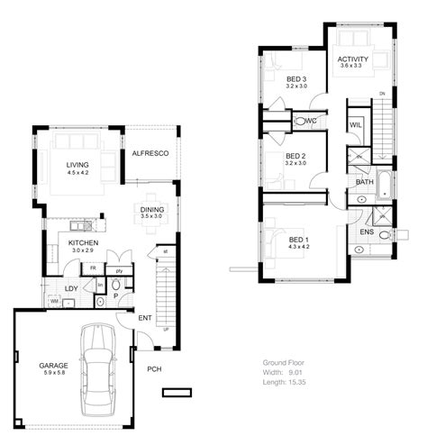 narrow lot 2 story house plans small narrow lot house plans memes