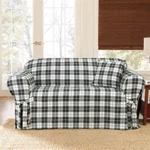 slipcover for wingback sofa 1 sure fit loveseat slipcover with wingback for