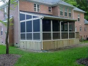 Sunsetter Awnings Installation Screened In Porch Builders Chesapeake Va Acdecks
