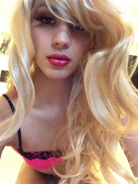 Guy Feminization Feminine Blonde With Highlights | femboy club the place for feminine boys girly