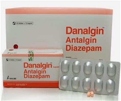 Obat Diazepam dosis obat danalgin metiron diazepam