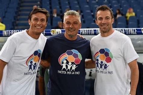 Tshirt Piero Baggio roberto baggio in interreligious match for peace zimbio