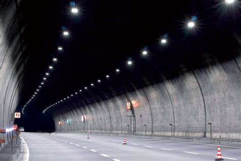 l illuminazione l illuminazione a led nelle gallerie strade autostrade
