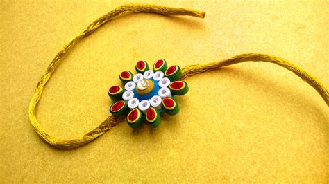 Handmade Rakhi Designs - eternal bond of rakhi handmade with the craft house
