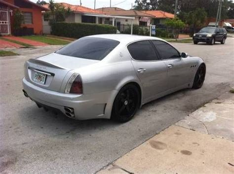 maserati quattroporte kit purchase used 2005 maserati quattroporte immaculate