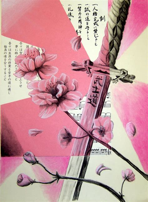 cherry blossom and katana by zerocool748 on deviantart