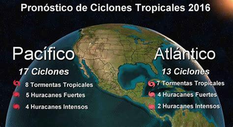 predicciones para temporada de huracanes de 2016 en usa se esperan 5 huracanes en esta temporada en el pac 237 fico