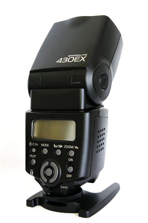 Canon Flash 430ex Ii Hitam canon speedlite