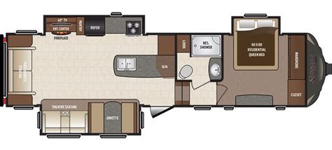 sprinter fifth wheel floor plans 2017 keystone sprinter 297fwrls cing world of