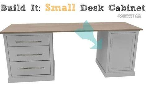 Build A Small Desk Small Desk Cabinet Avenue Collection Sawdust 174