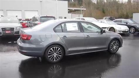 gray volkswagen jetta 2016 volkswagen jetta platinum gray metallic stock