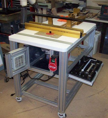 the basement 9 incra router table more progress