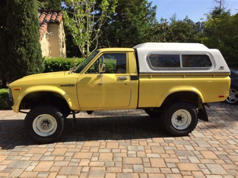 classic toyota truck 1981 toyota 4x4 pickup truck classic toyota other 1981