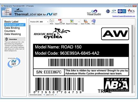 design zpl label thermallabel sdk for net barcode thermal label sdk for