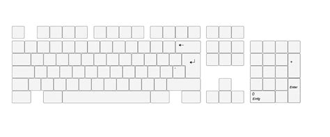 blank keyboard template printable worksheets