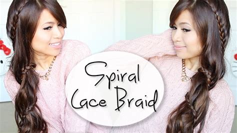 diy hairstyles bebexo how to carousel lace braid hairstyle for long hair