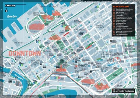 downtown cleveland map my month in downtown cleveland without a car