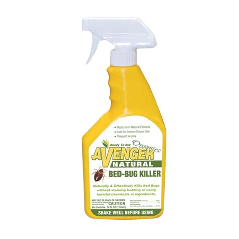 bed bug poison avenger organics bed bug killer ready to use ebay
