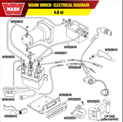 warn atv winch rocker switch wiring diagram for mini warn