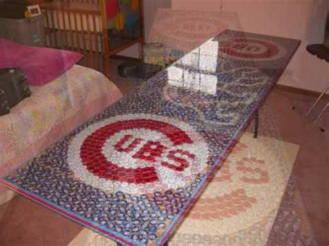 chicago cubs table chicago cubs beer pong table youtube