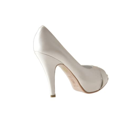 pumps braut damen braut open toe mit inner plattform aus geperlt