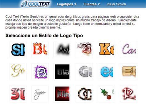 imagenes logo web 5 sitios web gratis para el diseno de logotipos