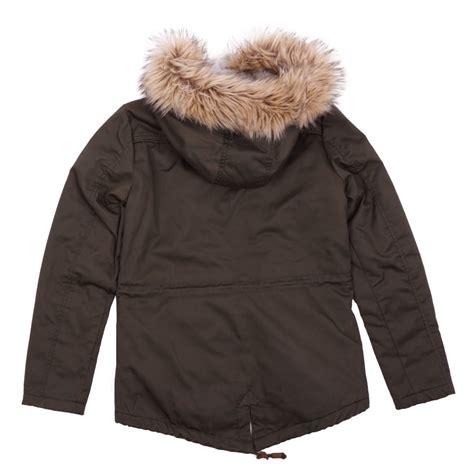 Katty Parka Jacket only kate canvas parka jacket otw 15139927