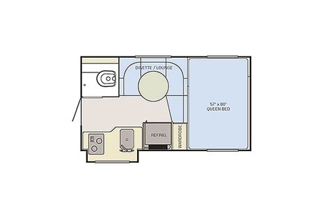 truck cer floor plans adventurer truck cers by alp access rv your trusted