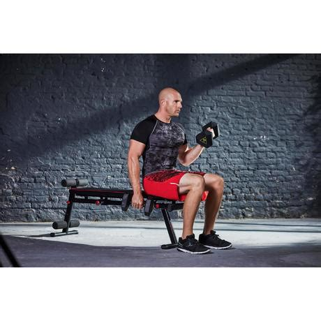 Banc Inclinable Musculation by Banc De Musculation 500 Pliable Et Inclinable Domyos