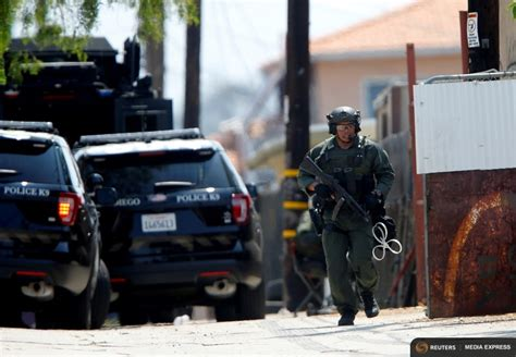 San Diego Officers by 2 Suspects In Custody In Deadly Shooting Of San Diego