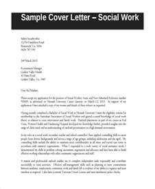 cover letter sles for social workers sle social worker cover letters 4 tips to write cover