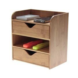 Tempat Penyimpanan Desk Organizer bamboo office products woodquail