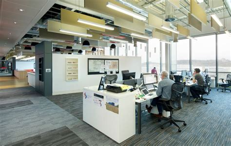 collaborative workplace environment interiors