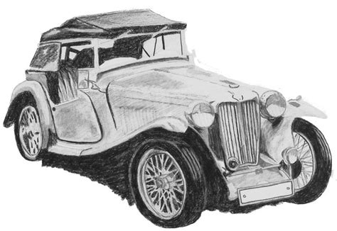 vintage cars drawings vintage car drawing drawing by catherine