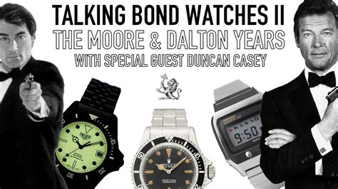 timothy dalton bond watch talking bond watches live ii the roger moore dalton